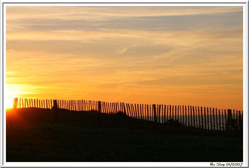 Couché de soleil à l'Ile du Gaou